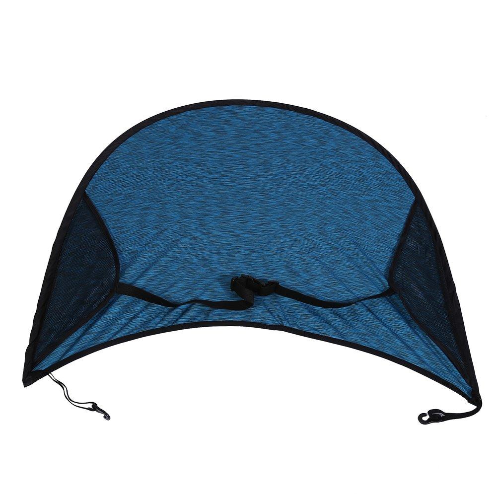 Zerodis 2 colori passeggino carrozzina parasole universale buggy seggiolino auto baldacchino copripiumino flessibile in lycra(Blue)