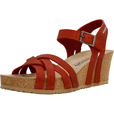 5561789f789 MEPHISTO LANNY - Sandales   Nu-pieds - RED - Femme - T. 35