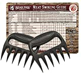 Bear Paw Products Bear Paws Meat Forks - Includes Meat Smoking Guide Magnet