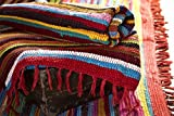Paper High Fair Trade Handmade Recycled Rag Rug Large 6 x 4ft