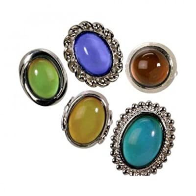 Toysmith Jumbo Mood Ring (Sold Individually - Styles Vary): Toys & Games