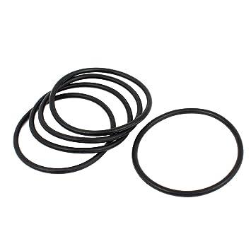 Sourcingmap 20 STK 40 mm Durchmesser 2 mm Dicke Industrie Flexible Gummi O-Ring Abdichtung T/üllen de