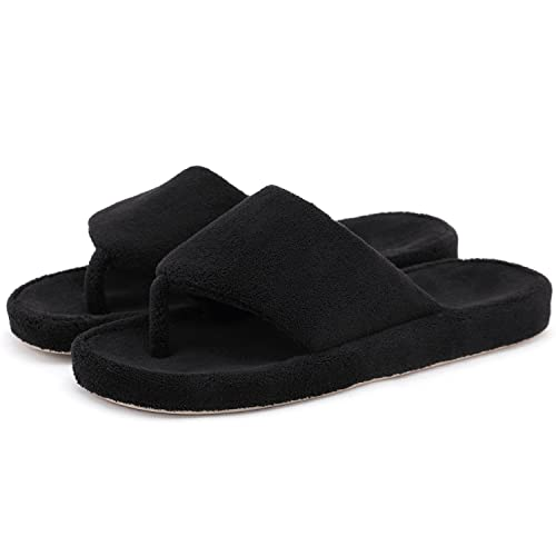 ef0598ffa8f5e7 Onmygogo Women Indoor House Toe Post Flip Flop Slippers Arch Support ...