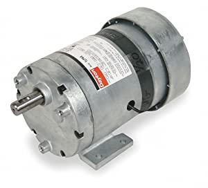 Dayton 1LPN6 AC Parallel Shaft PSC Gear Motor, 7 RPM, 1/20 hp, 115V, 60 Hz