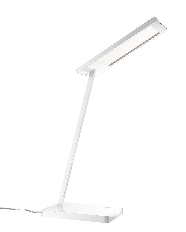 OSRAM LED Schreibtischlampe Silento Tavolo - LED Tischleuchte touch dimmbar - hochwertiges Aluminium in weiß - 6W -