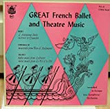 1952 Lp GREAT FRENCH BALLET AND THEATRE MUSIC , Recorded in Europe by the Linz Symphony Orchestra.