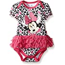 Disney Baby Minnie Mouse Tutu Bodysuit, Light Pink, 0-3 Months