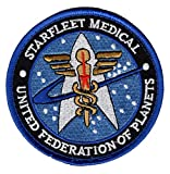 united federation planets - Star Trek Starfleet Medical United Federation of Planets Hook Patch by Miltacusa