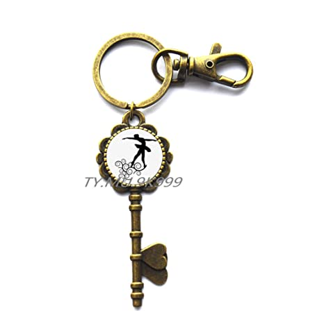 Amazon.com: Degas bailarinas llave anillo de llave, Degas ...