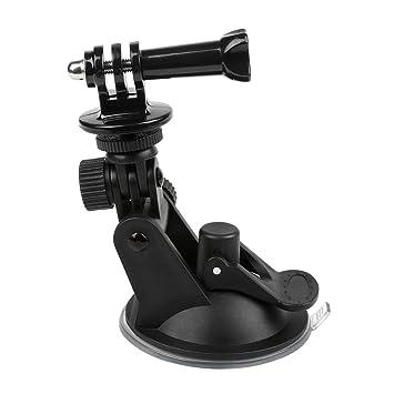 Tellaboull Adaptador Universal de Ventosa para el Coche Soporte para Parabrisas Soporte de cámara de acción