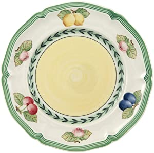 Villeroy & Boch French Garden Fleurence Bread & Butter Plate, 6.5 in, White/Multicolored