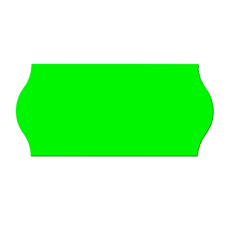 per Prezzatrice 1/cifre 9000/Etichette leuchtgruen permanente 6/Rotolo = 9000/Etichette leuchtgruen 26/X 12/mm von epo52 E1