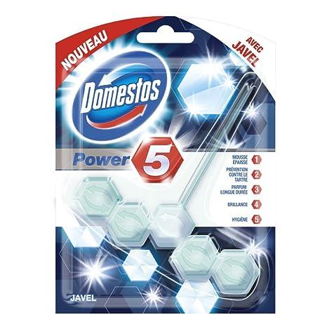 Domestos - Desinfectante de WC Power Five Javel (lote de 3)