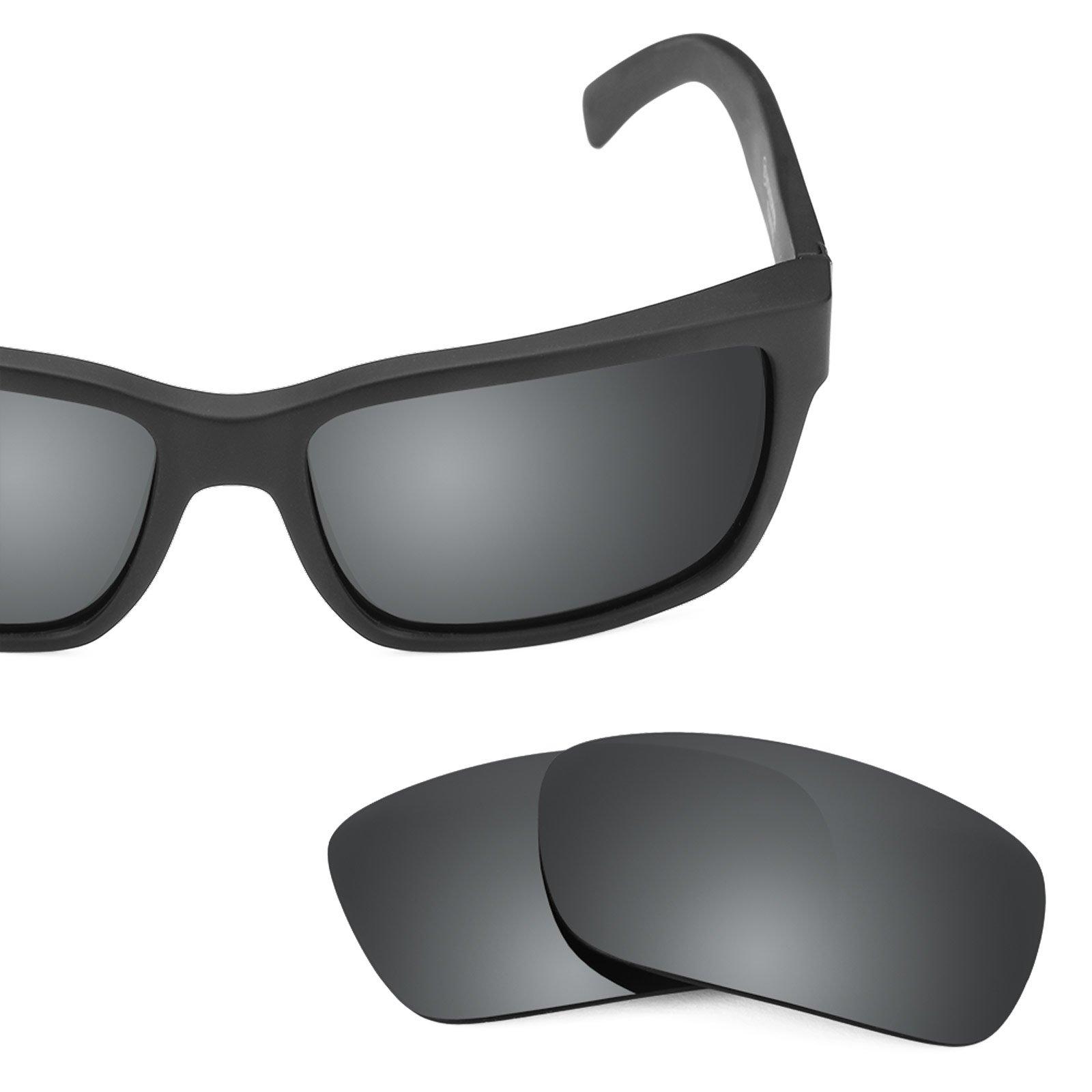 Revant Polarized Replacement Lenses for Von Zipper Elmore Black Chrome MirrorShield by Revant