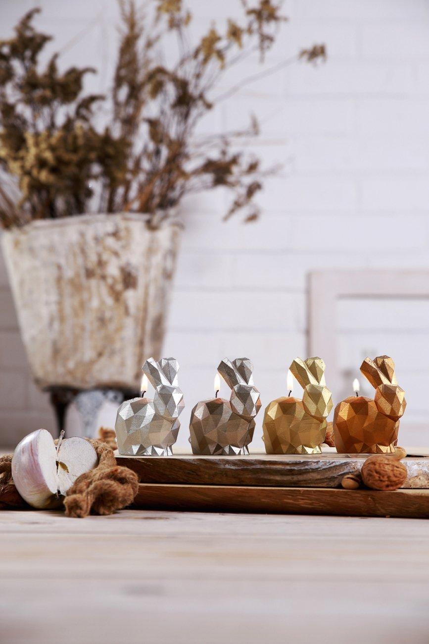 Candellana Candles 5902841369375 Bunny 4 pcs-Assorted V
