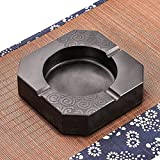 OLQMY-Stone Ashtray Natural Stone Ashtray Wujin Hand Carved Stone Ornaments Boutique Fashion Accessories