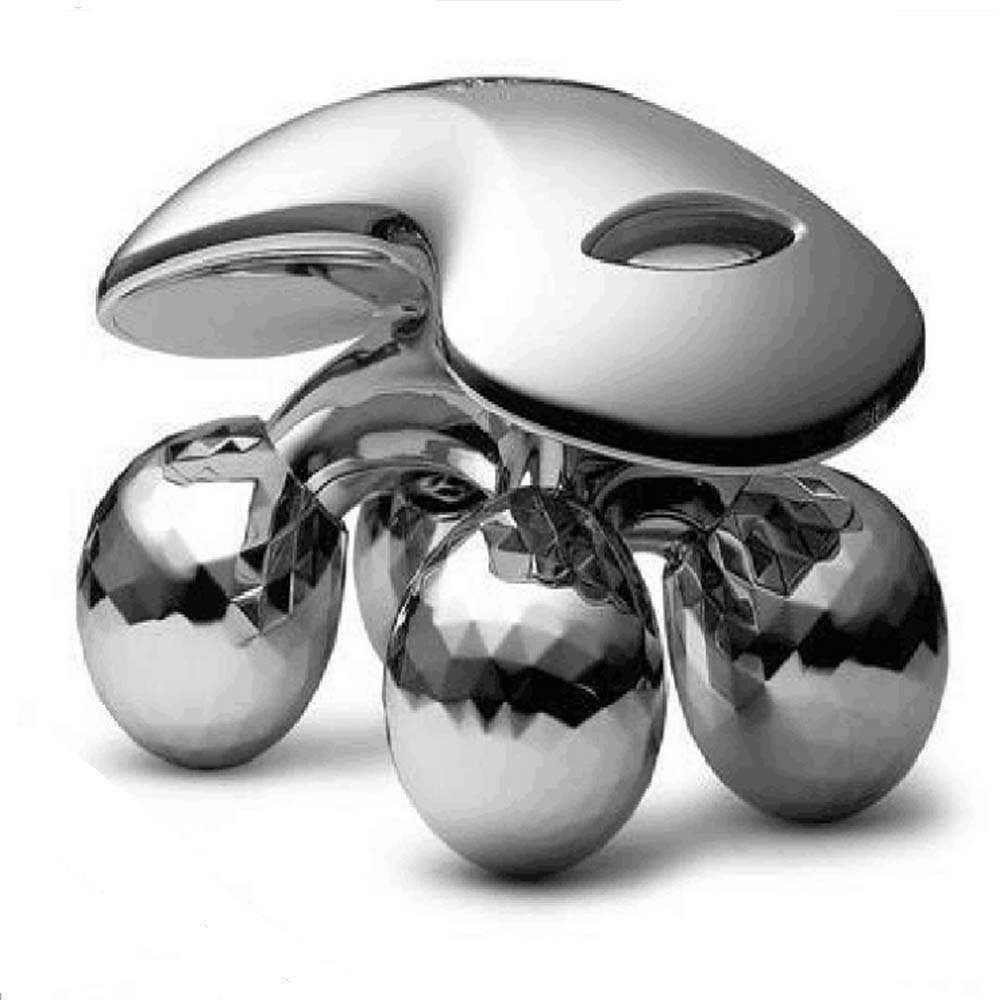FIGHTART 3D roller facial massager, 4D roller massager, body, facial massage to enhance body weight loss skin care