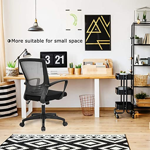 Office Chair Desk Chair Computer Chair Executive Rolling Swivel Chair Lumbar Support Task Mesh Chair