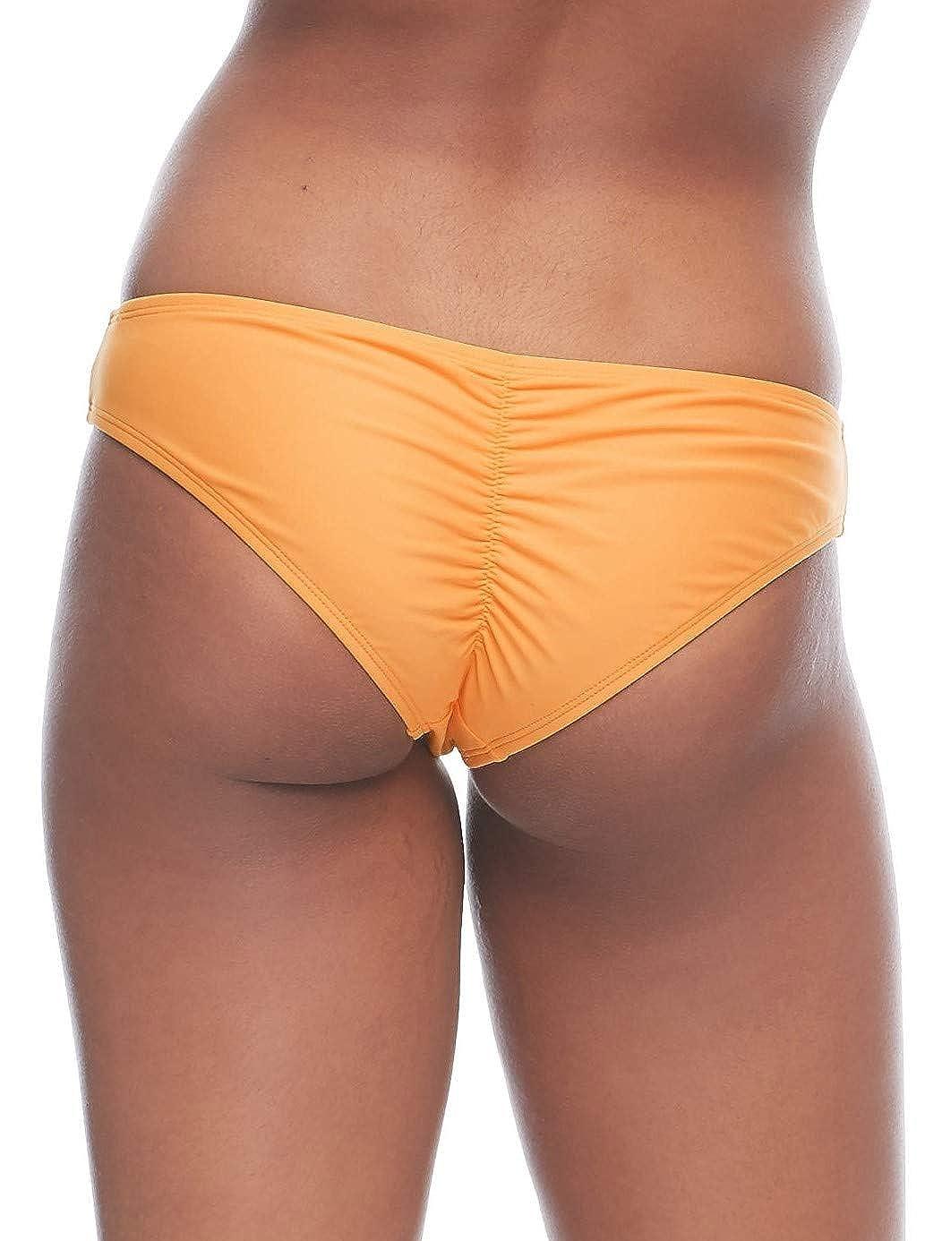 Body Glove Womens Smoothies Eclipse Solid Surf Rider Bikini Bottom Swimsuit