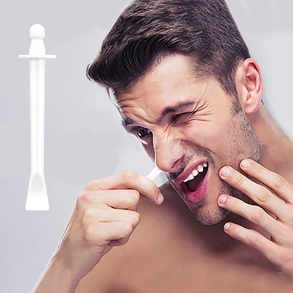 Nose Wax Applicators Sticks Spatulas for Nostril Nasal Waxing Ear Eyebrow Facial Hair Removal