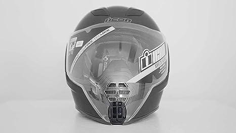 Motoradds Kinnhalterung Für Icon Airflite Helme Kamera