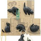 アルタ ネコ磁石 5種セットAR08100 猫 マグネット