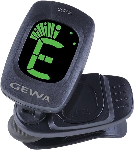GEWA CLIP-3 Clip-On Stimmgerät für Gitarre//Bass