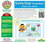 Earths Best Organic Sunny Day Toddler Snack Bars with Cereal Crust, Made With Real Apples - 8 Count (Pack of 6)