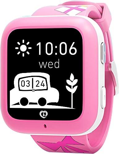 Relojes inteligentes Misafes, Niños SOS Smartwatch Teléfono GPS ...