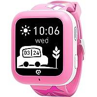 Relojes inteligentes Misafes, Niños SOS Smartwatch Teléfono GPS Tracker Niños Anti-perdidos reloj de pulsera para bebés…