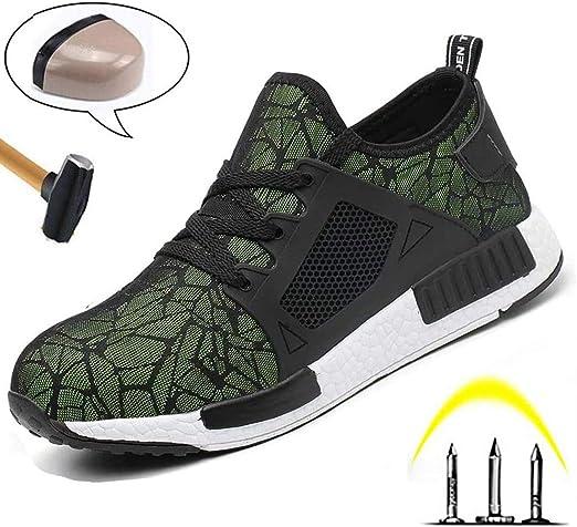 Men's Steel Toe Work Shoes, Lightweight