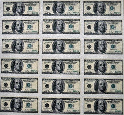 (Edible Wafer Mini 100 Dollar Bills ~ BUY TWO GET THIRD)