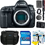 Canon EOS 5D Mark IV DSLR Camera ( Body Only ) + I3e-Pro Camera Gadget Bag + I3e-Pro High Speed 16GB SD Card + I3e-Pro Cleaning Kit - ( International Version )