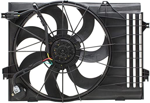 Radiator And Condenser Fan For Hyundai Tucson Kia Sportage KI3115116