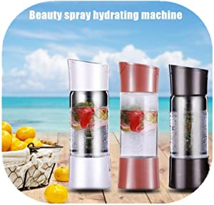 500ml/17oz Portable Source Sparkling Water Maker, Soda Drink Carbonated Water Machine, Easy Fizzy Beverage For Home/Office/Party, Bubble Machine For Household Without Gas Cylinder