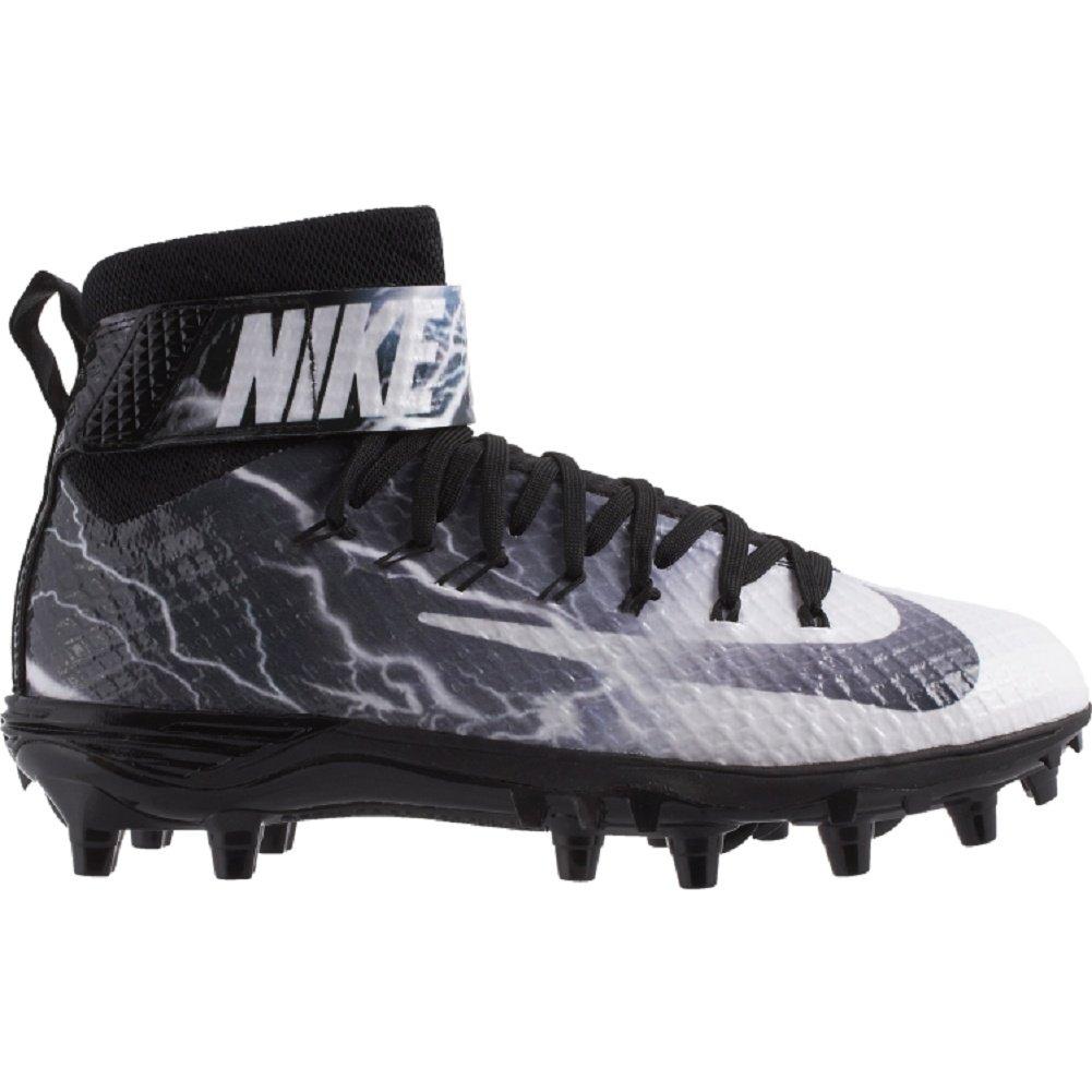Nikeメンズlunarbeast Pro TD Football Cleats B0059GHWRY 13|White Grey Black White Grey Black 13