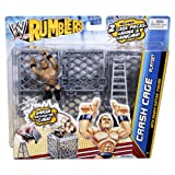 WWE Rumblers Crash Cage Playset with Randy Orton Figure
