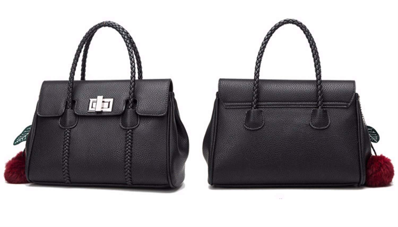 FUBULECY Damen Handtasche mit großer Kapazität Schwarz B07KJX3CFW B07KJX3CFW B07KJX3CFW Shopper Großhandel 3f18ad