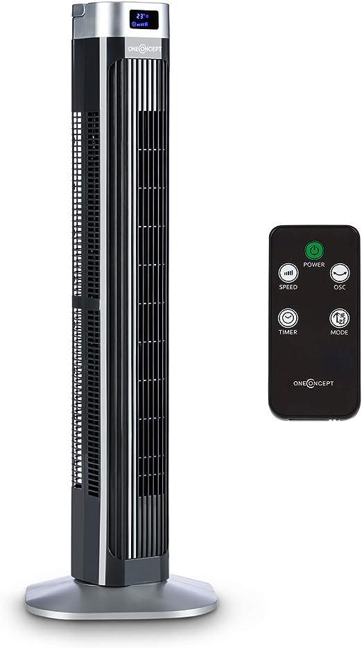 Oneconcept Hightower 2G - Ventilador Vertical, 3 velocidades, 3 ...