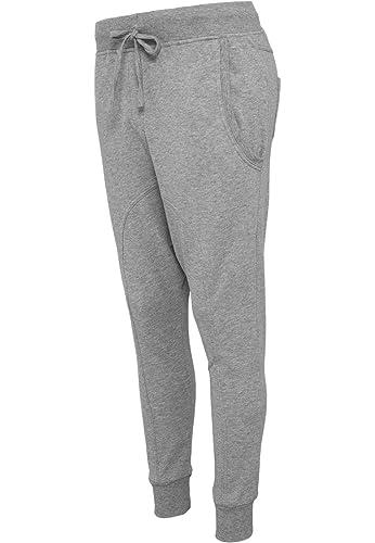 Urban Classics Ladies Light–Forro polar Sarouel Pant (Grey)