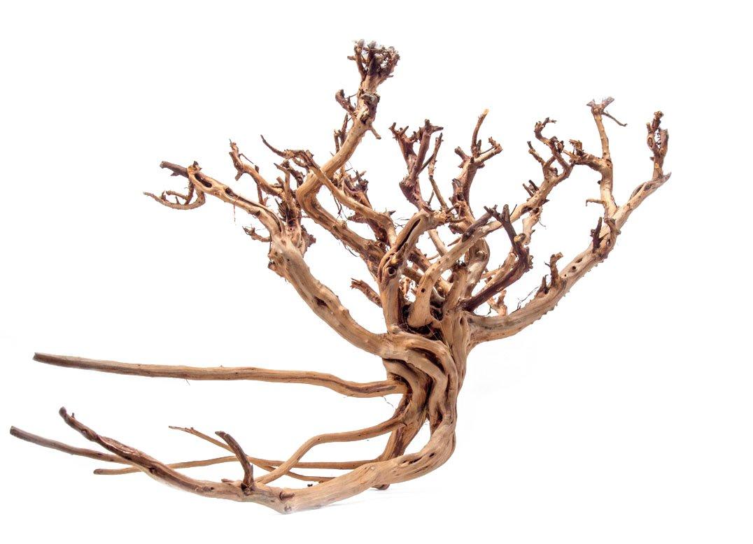 Aquatic Arts 1 X-Large Piece of Tiger Wood Natural Aquarium Driftwood, 14-18''