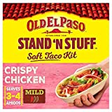 Old El Paso Stand N Stuff Crispy Chicken Taco Kit – 351g (0.77lbs)