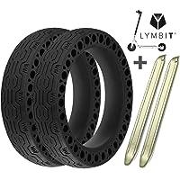 Lymbit x2 Neumático sólido Antideslizante reemplazo para Ruedas