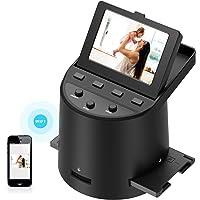 Wireless Digital Film Scanner with 22MP, Converts 35mm, 126, 110, Super 8 Films, Slides, Negatives to JPEG, Tilt-Up 3.5…