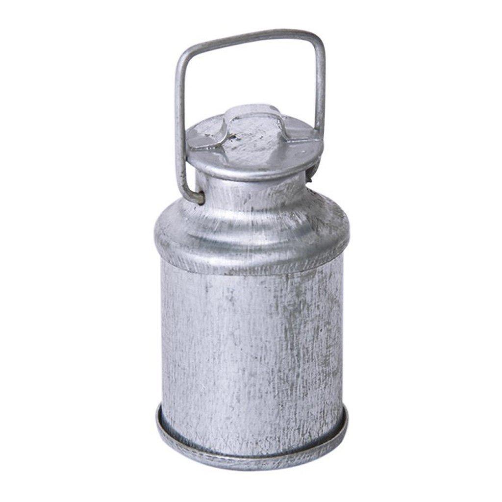 TOOGOO Botella Jarra de leche con tapa miniatura de casa de munecas 1//12 R