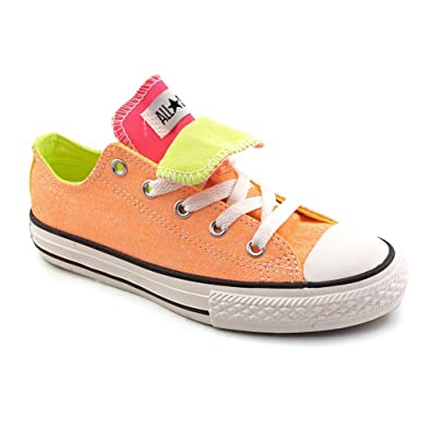 76b9b3b051 Amazon.com | Converse All Star New Shoes Double Tongue Low Top size ...