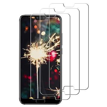 Protector de Pantalla para Huawei Honor 10, [3-Unidades] Cristal ...