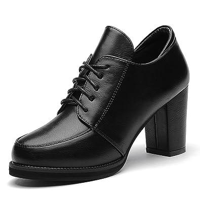 Damen Pumps/Klobige Heels Schuhe/Nackte Riemen Runde Zehe