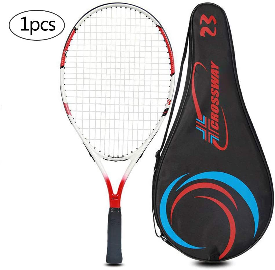 1pcs Child Carbon Fiber Tennis Racquet Toys for Toddler Age 3-5 Indoor /& Outdoor Sports with Bag GLYHE Kids Tennis Racket Set