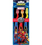 Firefly Marvel Soft Toothbrush, 3 Count